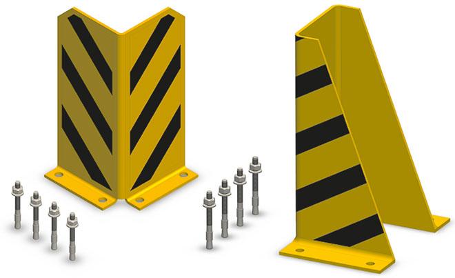 Protectie rame raft depozit
