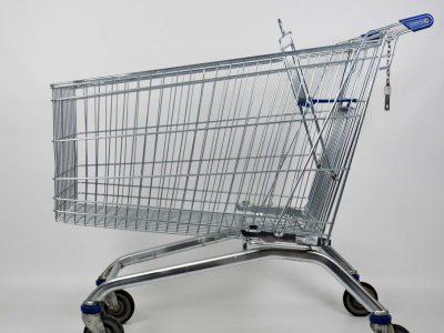 Cărucior pentru cumpărături
