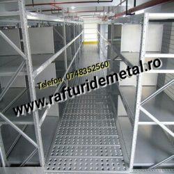 Platforma metalică pentru Sistem de Rafturi