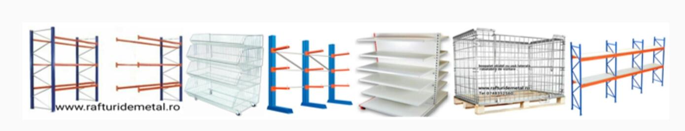 comanda-online - rafturi metalice second hand de fabricație west germană